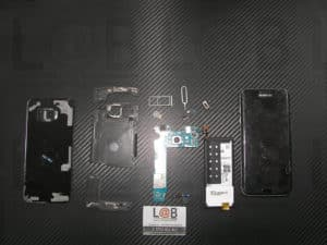 Αντικατάσταση οθόνης και μηχανισμού αφής σε τηλέφωνο Samsung Galaxy S7 Edge