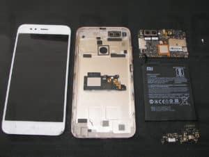 Αντικατάσταση οθόνης σε τηλέφωνο Xiaomi Mi A1